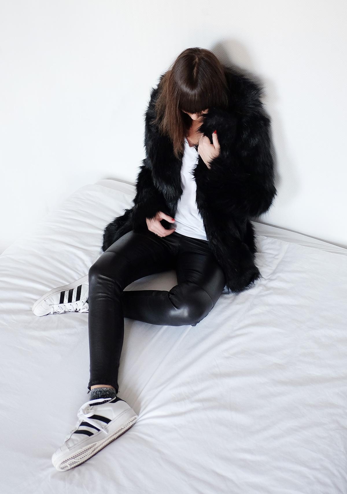 legging cuir Reiko