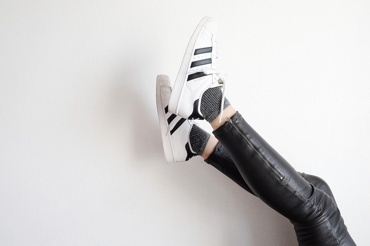 chaussettes paillettes pas chères
