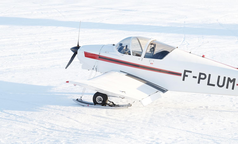 avion neige