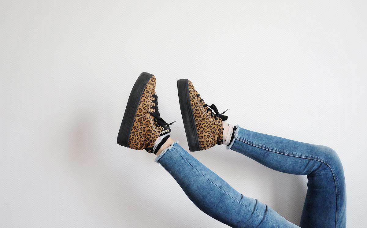 baskets leopard no name