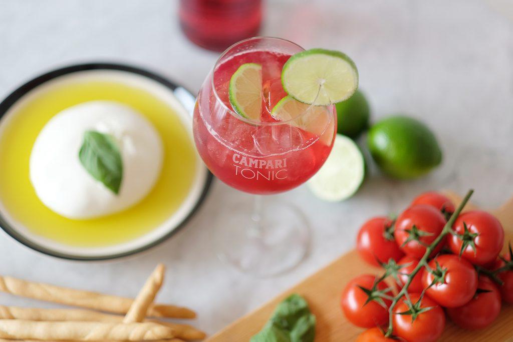 Cocktail : Campari x Tonic