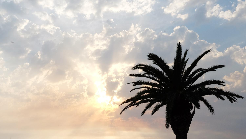 coucher de soleil grèce