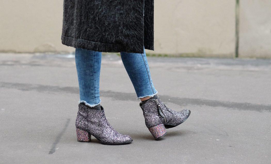 Les Boots à paillettes