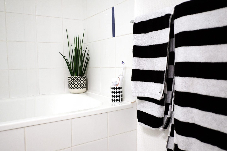 Dans ma salle de bain