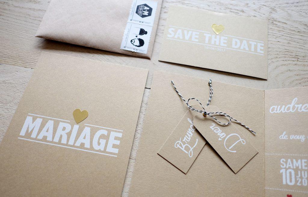 Faire-parts de mariage DIY, la suite !