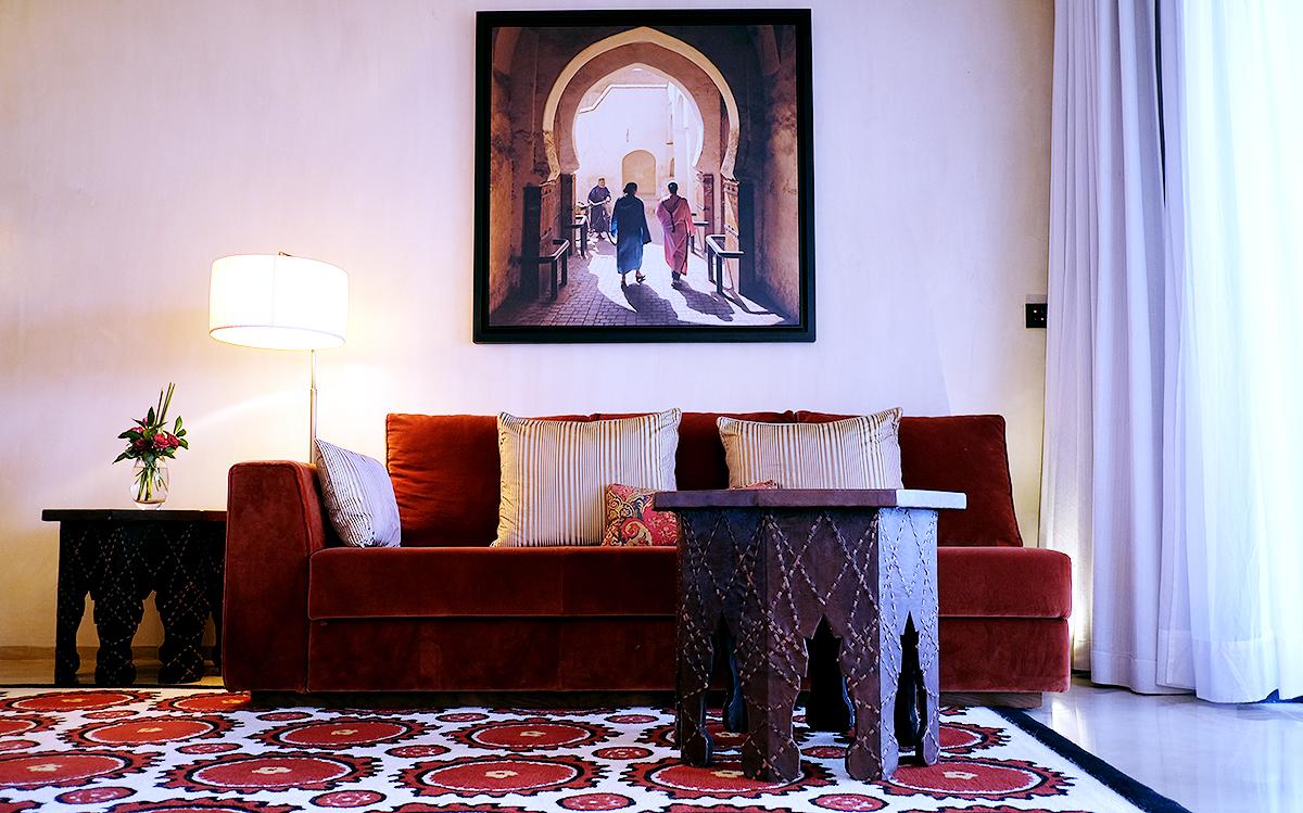 Royal Palm Marrakech chambre