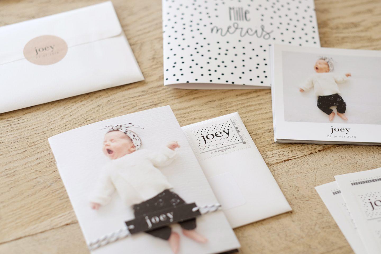 Faire-part de naissance & timbres personnalisés