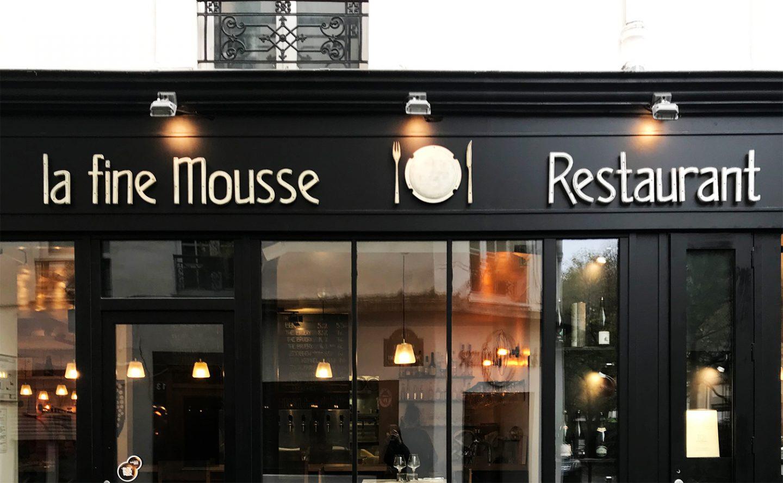 Bonne Adresse : La Fine Mousse