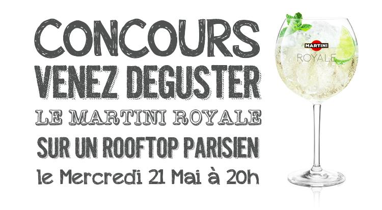 Une soirée #Instapéro avec Martini Royale ?