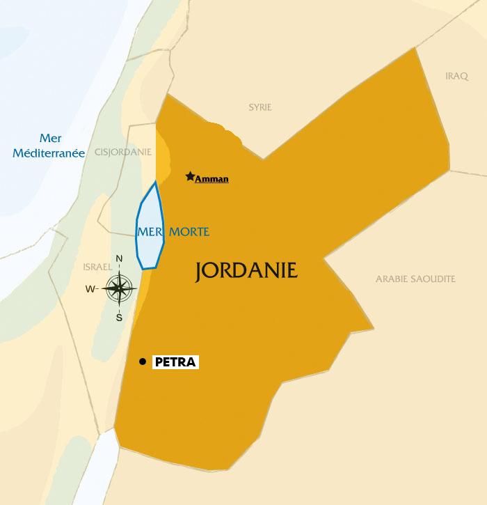 Carte Jordanie Petra.Carnet De Voyage Jordanie Etape 2 Azzed Net