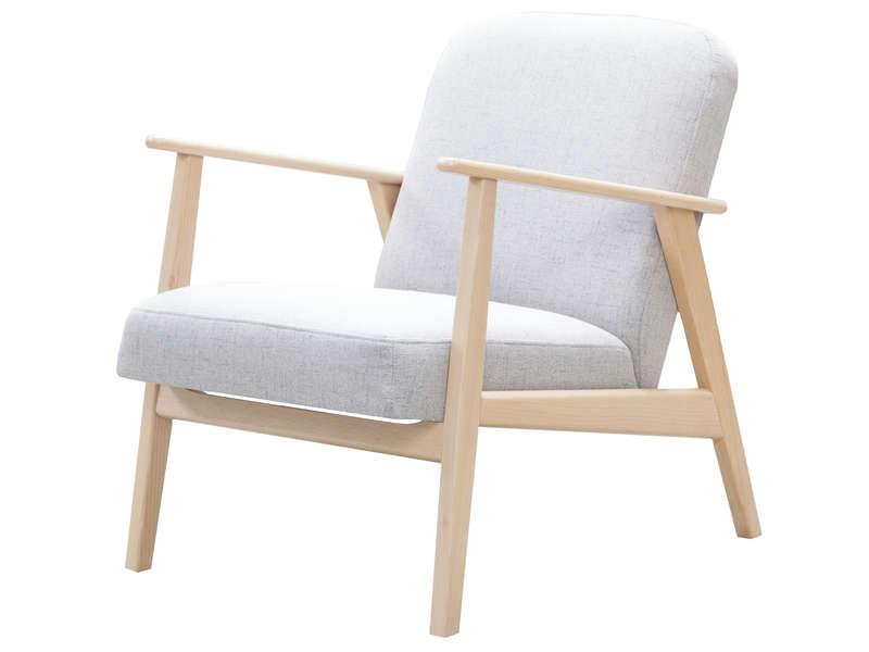 fauteuil vintage bois