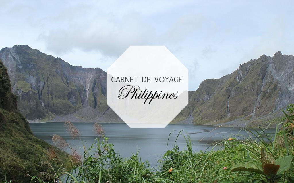 Carnet de Voyage : Les Philippines 1/3