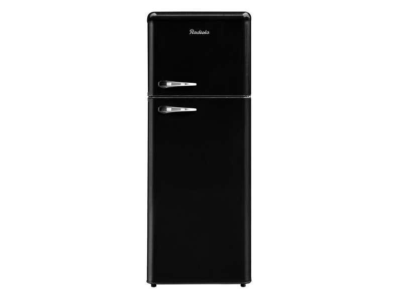 réfrigérateur vintage noir pas cher