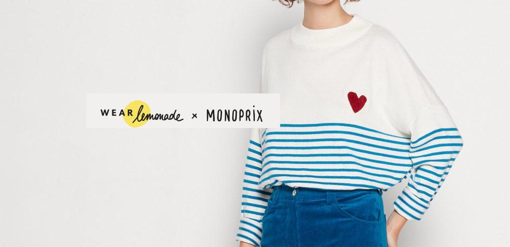 Wear Lemonade x Monoprix